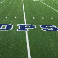 1708 Football Field Small Logo Hash Marks