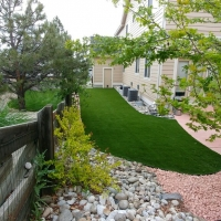 Side Yard Turf From Afar