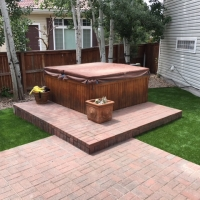 Turf Around Hot Tub