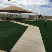 1943 Dilley Texas Turf Walkway After