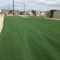 1945 Dilley Texas Turf Yard After