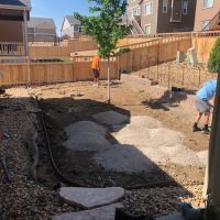 2015 Residential Backyard Before