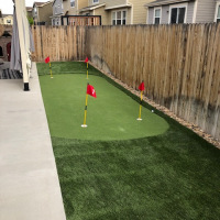 2034 Putting Green After with Artificial Turf