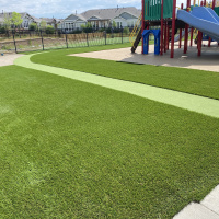 2042 Playground Turf After With Path