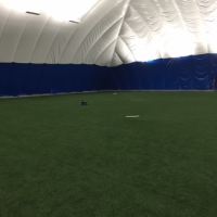 Baseball - Turf Inside Bubble
